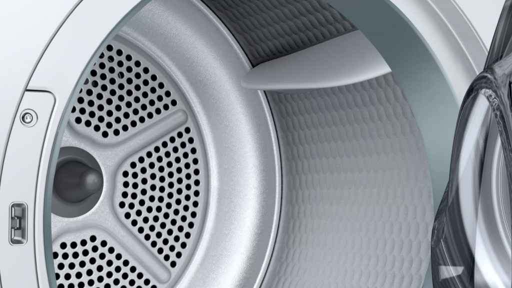 Bosch Dryer mashine WTR86TL8SN Energy efficiency class A++, Front loading, 8 kg, Sensitive dry, LED, Depth 60 cm, White