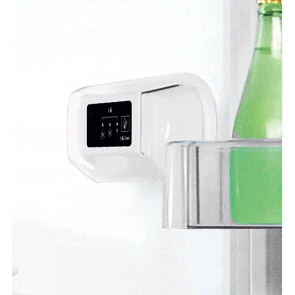 INDESIT Refrigerator LI8 S1E W Energy efficiency class F, Free standing, Combi, Height 188.9 cm, Fridge net capacity 228 L, Freezer net capacity 111 L, 39 dB, White