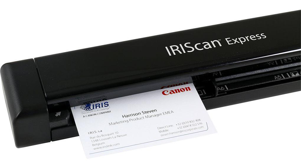 I.R.I.S. IRIScan Express 4 Poogna-skänner 1200 x 1200 DPI A4 Must