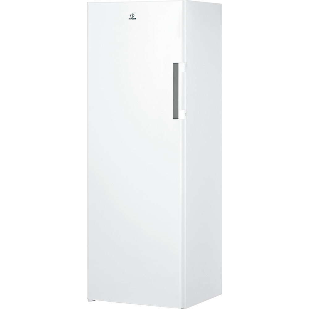 INDESIT Freezer UI6 1 W.1 Energy efficiency class F, Upright, Free standing, Height 167  cm, Total net capacity 233 L, White