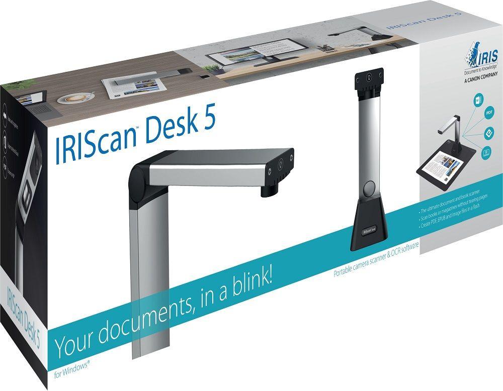 I.R.I.S. IRIScan Desk 5 dokumendikaamera Must, Hõbe CMOS USB 2.0