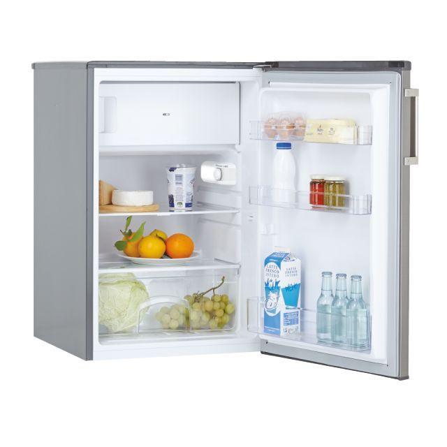 Candy Refrigerator CCTOS 542XHN Energy efficiency class F, Free standing, Larder, Height 85 cm, Fridge net capacity 95 L, Freezer net capacity 14 L, 40 dB, Silver