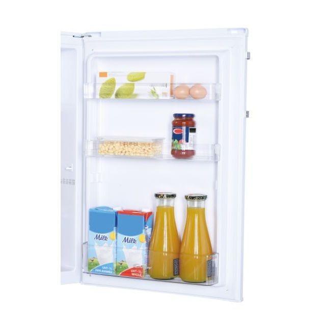Candy Refrigerator CCTOS 542WHN Energy efficiency class F, Free standing, Larder, Height 85 cm, Fridge net capacity 95 L, Freezer net capacity 14 L, 39 dB, White