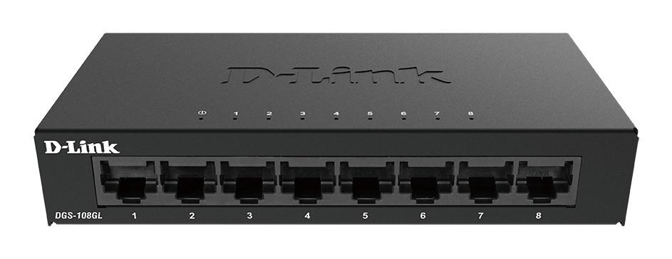 D-LINK 8-Port Layer2 Gigabit Switch