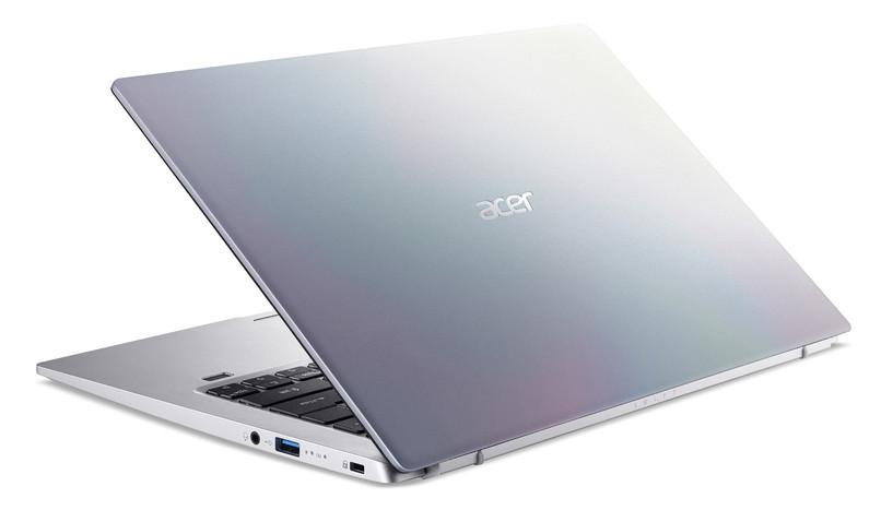 "Acer Swift 1 SF114-33-P967 Silver, 14.0 "", IPS, FHD, 1920x1080 pixels, Matt, Intel Pentium, N5030, 8 GB, LPDDR4, SSD 256 GB, Intel UHD 605, No ODD, Windows 10 Home, 802.11 ax/ac/a/b/g/n, Bluetooth version 5.0, Keyboard language English, Keyboard backlit, Warranty 24 month(s), Battery warranty 12 month(s)"