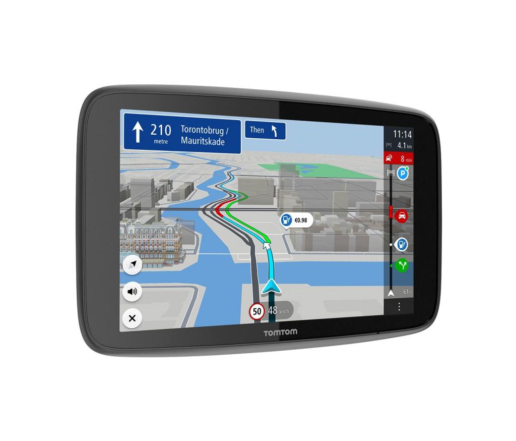 "TomTom GO Discover navigaator Fikseeritud 17,8 cm (7"") Puutetundlik ekraan Must"
