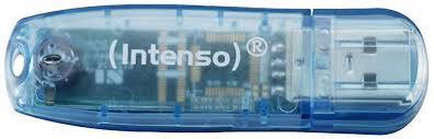 MEMORY DRIVE FLASH USB2 4GB/3502450 INTENSO