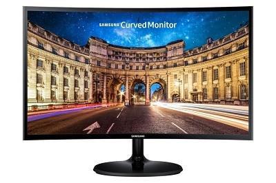 "Samsung C27F390FHR 68,6 cm (27"") 1920 x 1080 pikslit Full HD Must"