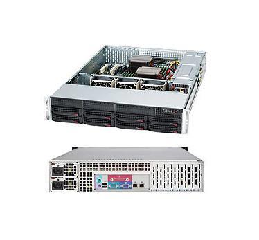 SERVER CHASSIS 2U 800W/CSE-825TQC-R802LPBSUPERMICRO
