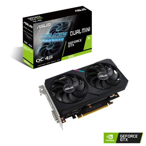 ASUS Dual GeForce GTX 1650 MINI OC NVIDIA 4 GB GDDR6