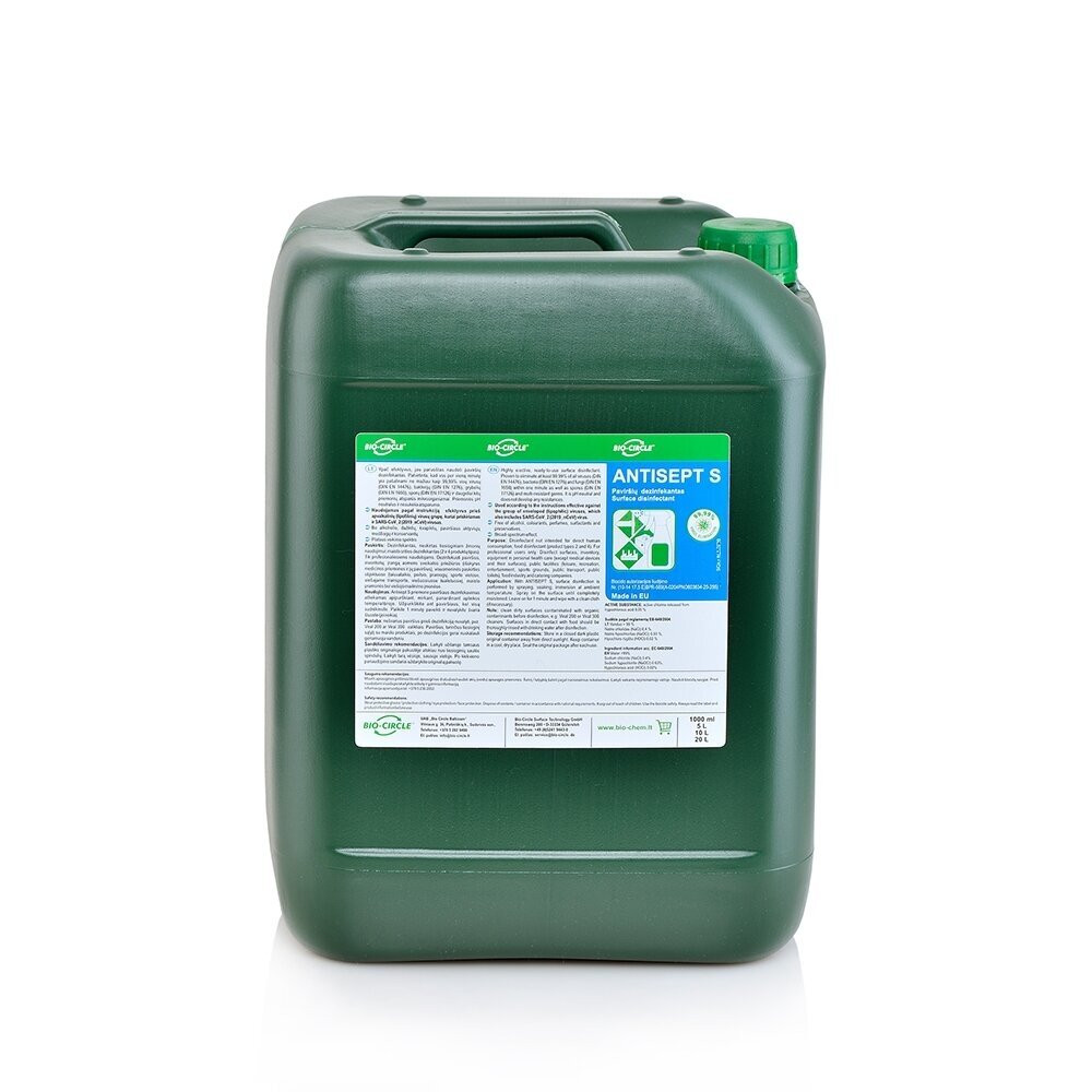 Bio Circle Surface Disinfectant ANTISEPT S 10 Liters