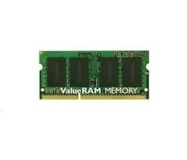 Kingston Technology ValueRAM KVR13S9S6/2 mälumoodul 2 GB 1 x 2 GB DDR3 1333 MHz