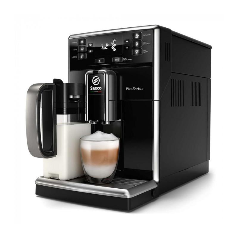 Saeco PicoBaristo Espresso Machine SM5470/10 Pump pressure 15 bar, Built-in milk frother, Fully Automatic, 1850 W, Black