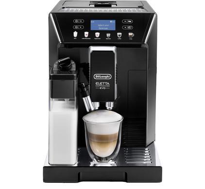 Delonghi Eletta Cappuccino Evo Coffee Maker ECAM 46.860.B Pump pressure 15 bar, Built-in milk frother, Fully Automatic, 1450 W, Black