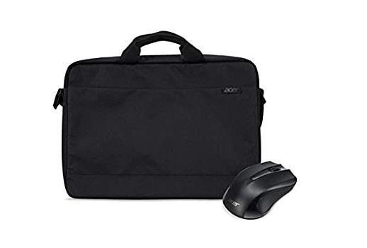 "Acer NP.ACC11.02A sülearvutikott 39,6 cm (15.6"") Pealt avatav kott Must"