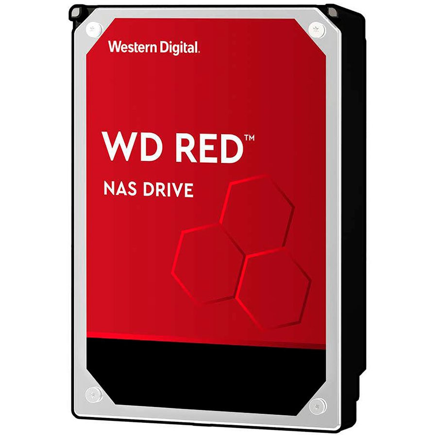 HDD Desktop WD Red (3.5'', 6TB, 256MB, 5400 RPM, SATA 6 Gb/s)