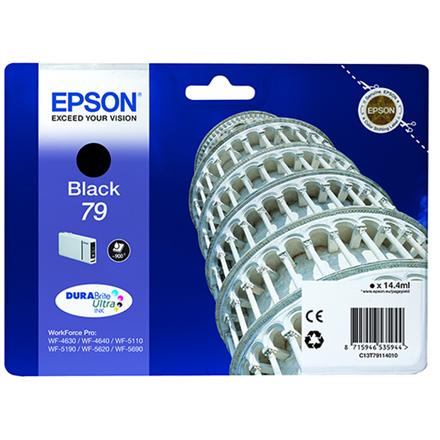 Epson Tower of Pisa 79 tindikassett 1 tk Originaal Standard Yield Must