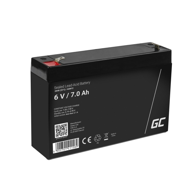 Battery AGM GC 6V 7Ah