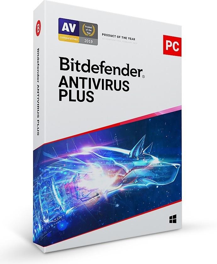 BitDefender AV Plus Renewal 1Dvc 1Year BDAV-K-1Y-1D