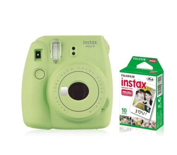 Instax Mini 9 green + 10 pcs photo