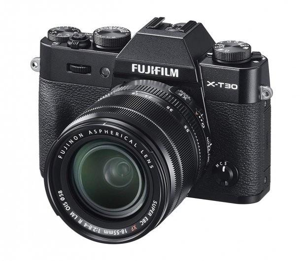 FujiFilm X-T30 + 18-55 black