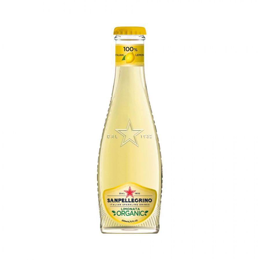 S.Pellegrino Limonata Bio klaaspudel 200ml