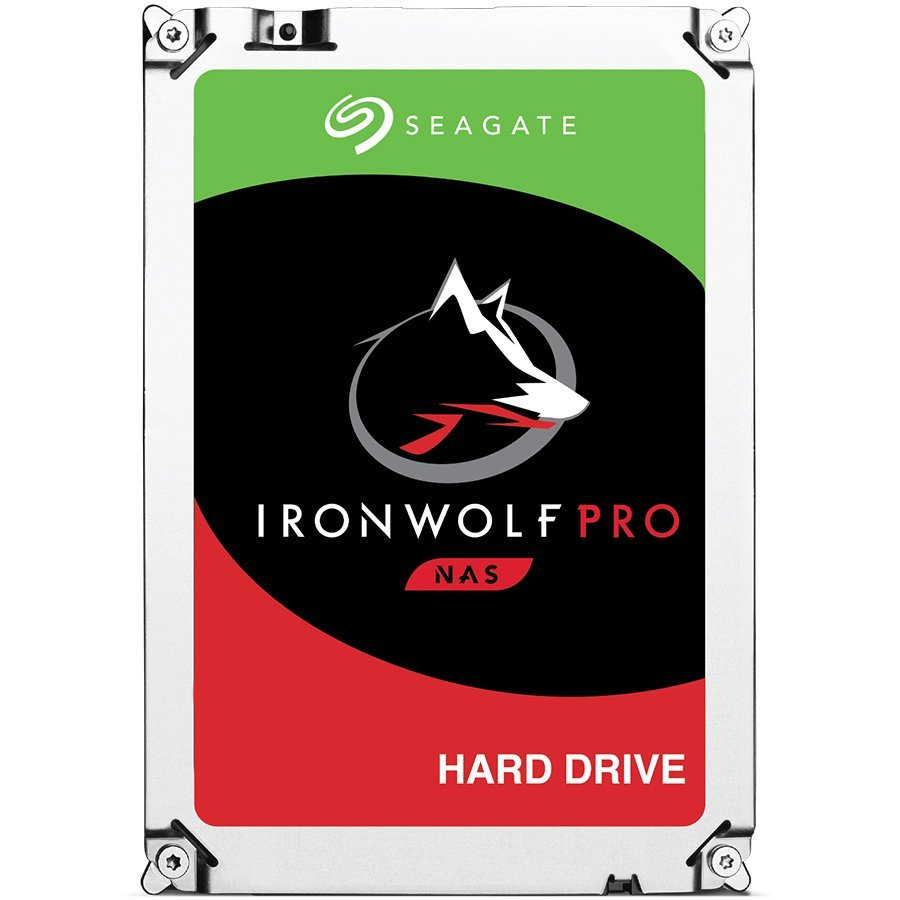 SEAGATE HDD Desktop IronWolf Pro (3.5'/ 4TB/ SATA 6Gb/s/ rmp 7200)