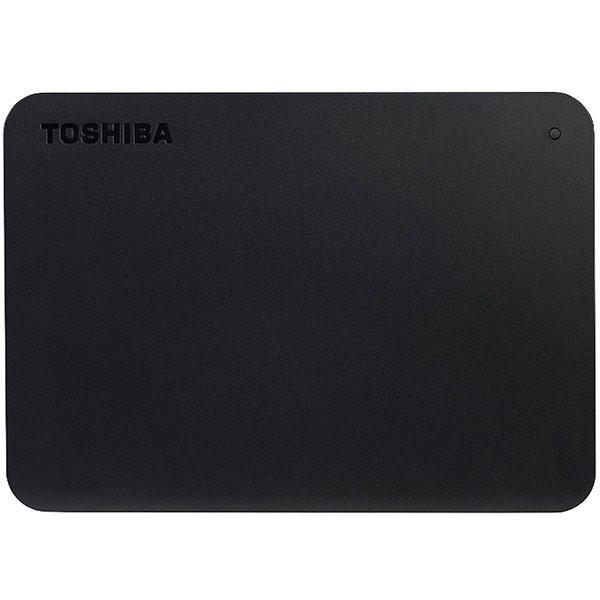 "Toshiba External Hard Drive Canvio Basics + USB-C adapter (2.5"" 1TB, USB3.2 Gen 1, Black)"