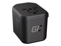 GREEN CELL travel adapter TripCharge