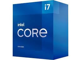 CPU|INTEL|Desktop|Core i7|i7-11700|2500 MHz|Cores 8|16MB|Socket LGA1200|65 Watts|GPU UHD 750|BOX|BX8070811700SRKNS