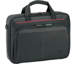 "Targus Classic Fits up to size 13.4 "", Black, Messenger - Briefcase, Shoulder strap"