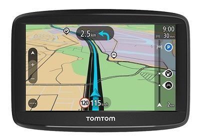 "TomTom Start 52 EU 45 navigaator 12,7 cm (5"") Puutetundlik ekraan Käeshoitav/kinnitatud Must 235 g"