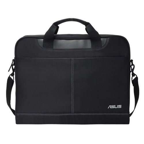 """Asus Nereus Fits up to size 16 """", Black, Messenger - Briefcase, Shoulder strap, Waterproof"""