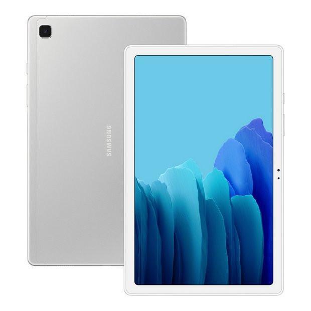 "Samsung Galaxy Tab A7 T505 10.4 "", Silver, TFT, 1200 x 2000, Qualcomm Snapdragon 662, 3 GB, 32 GB, 4G, Wi-Fi, Front camera, 5 MP, Rear camera, 8 MP, Bluetooth, 5.0, Android, 10.0"