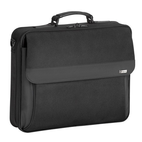 "Targus Intellect Fits up to size 16 "", Black, Messenger - Briefcase, Shoulder strap"