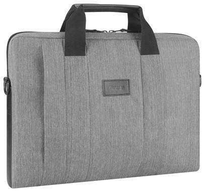 "Targus City Smart Fits up to size 15.6 "", Grey, Messenger - Briefcase, Shoulder strap"
