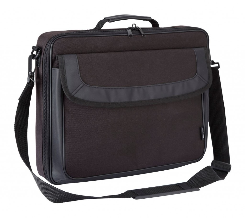 "Targus Classic Clamshell Case Fits up to size 15.6 "", Black, Shoulder strap, Messenger - Briefcase"