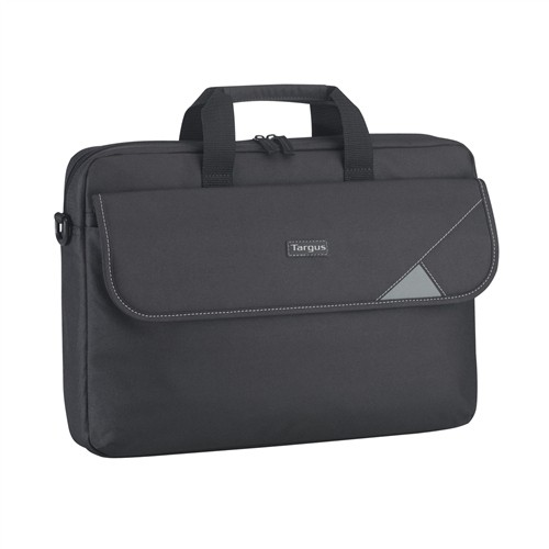 "Targus Intellect Fits up to size 15.6 "", Black/Grey, Shoulder strap, Messenger - Briefcase"