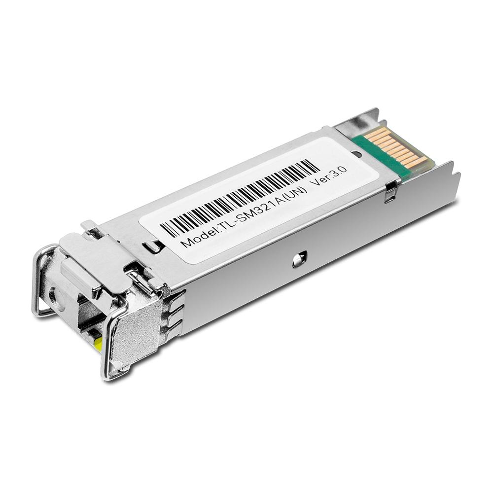 TP-LINK 1000 Base-BX WDM Bi-Directional SFP Module TL-SM321A-2 9/125 μm SMF (Single-Mode Fiber)