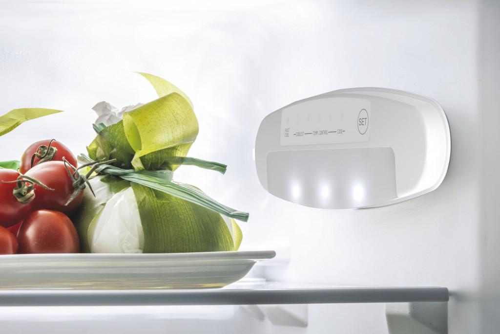 Candy Refrigerator CMCL 4142SN Energy efficiency class F, Free standing, Combi, Height 144 cm, Fridge net capacity 109 L, Freezer net capacity 48 L, 39 dB, Silver
