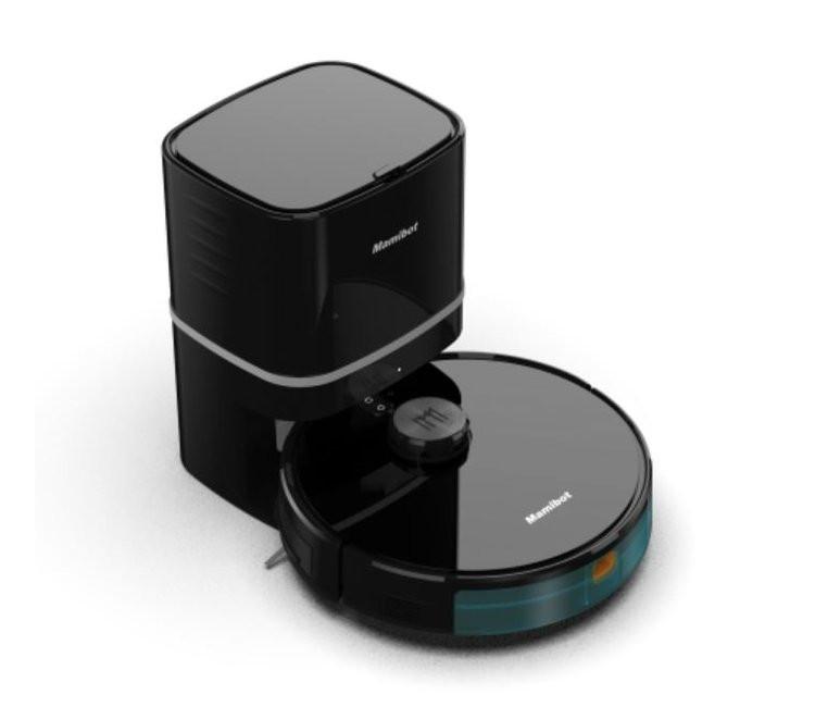 Mamibot Vacuum cleaner EXVAC890 Wet&Dry, Operating time (max) 215 min, Lithium Ion, 5200 mAh, Dust capacity 0.6 L, Black
