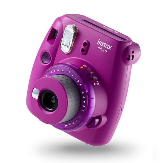 Instax Mini 9 Clear Purple