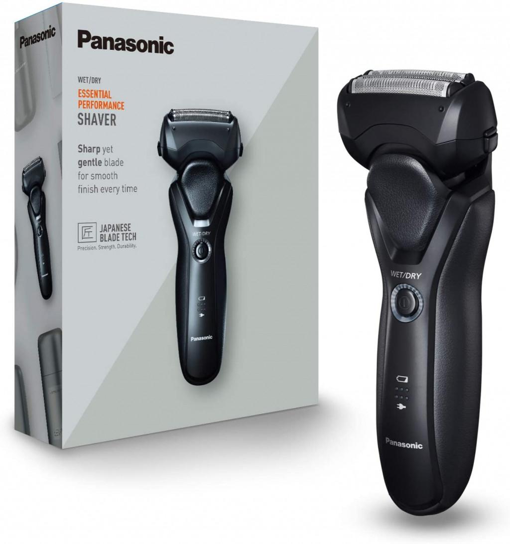 Panasonic Shaver ES-RT37-K503 Operating time (max) 54 min, Lithium Ion, Black, Cordless