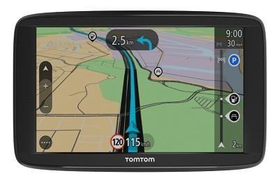 "TomTom Start 62 EU 45 navigaator 15,2 cm (6"") Puutetundlik ekraan Käeshoitav/kinnitatud Must 280 g"