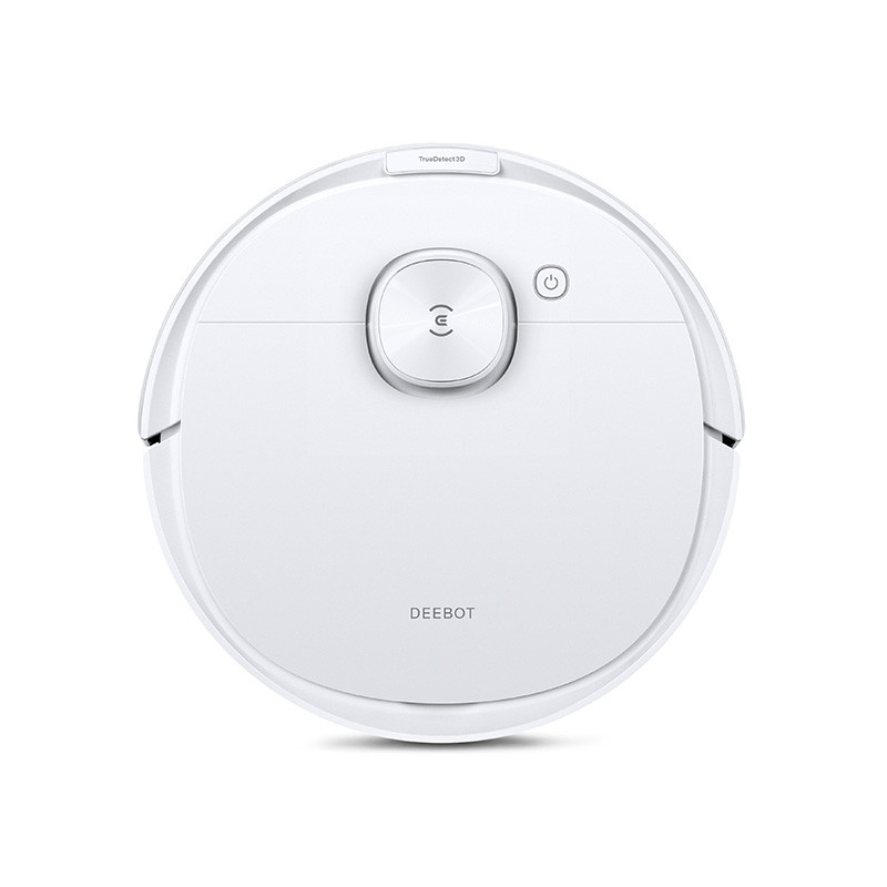 Ecovacs Vacuum cleaner DEEBOT N8 PRO Wet&Dry, Operating time (max) 110 min, Lithium Ion, 3200 mAh, Dust capacity 0.42 L, White