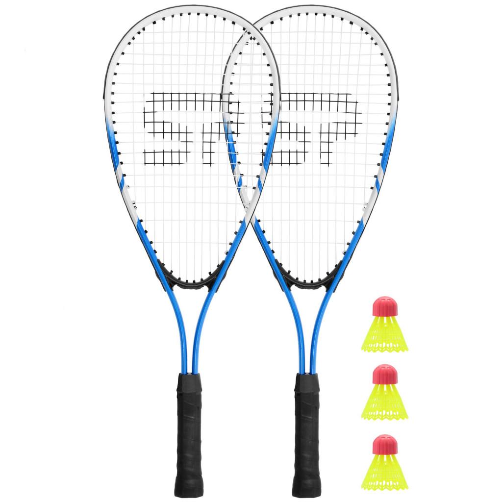 Spokey BUGY Speed badminton set Blue/Black