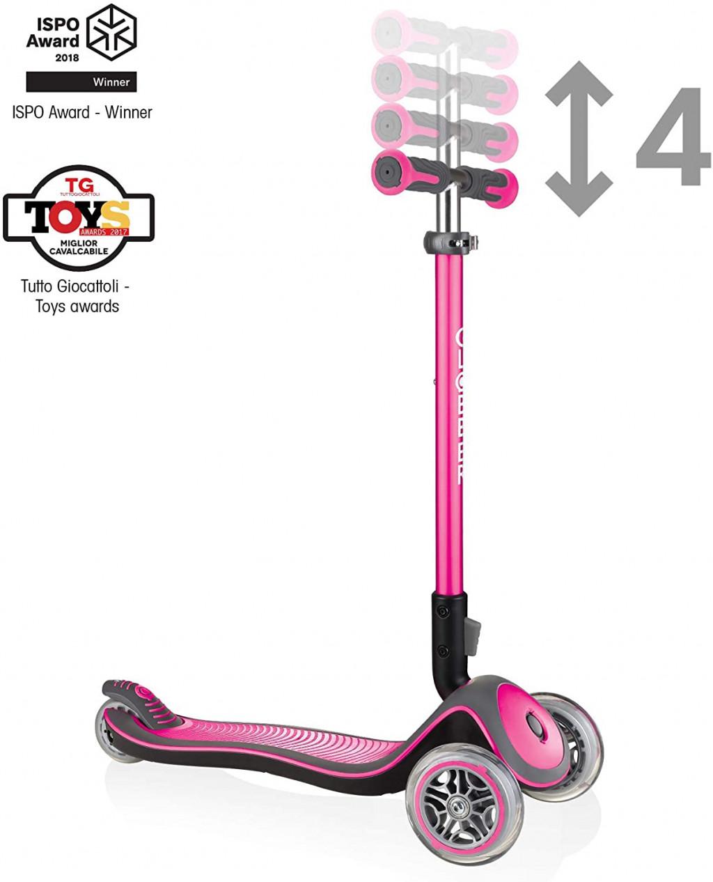 Globber Scooter Elite Deluxe Lights  444-410