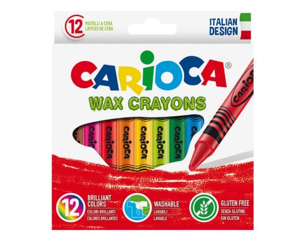 Rasvakriidid Carioca Universal 12 värvi