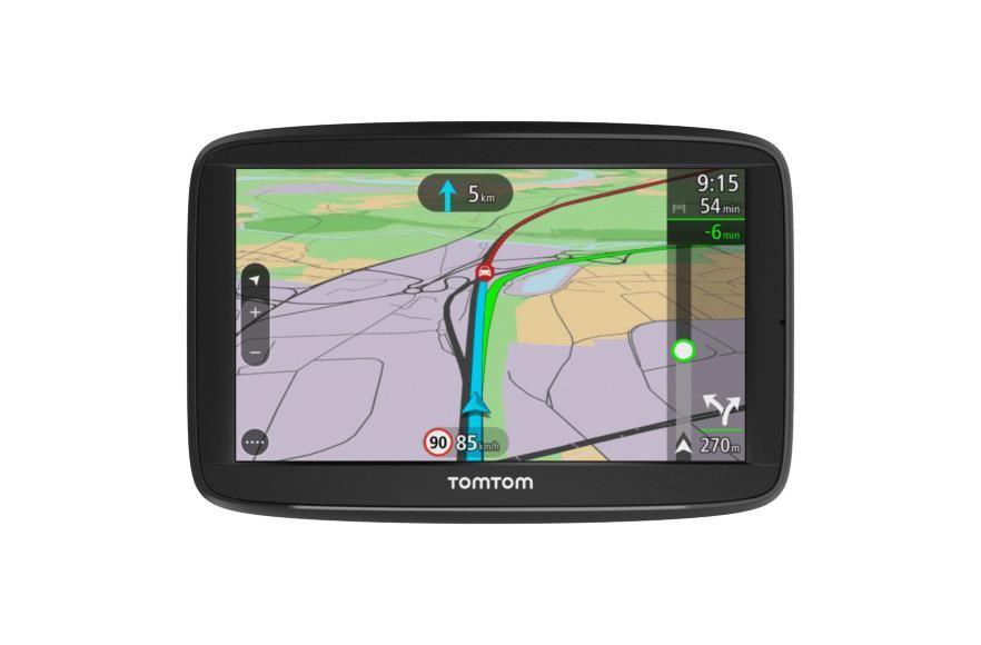 """TomTom VIA 52 EU45 navigaator 12,7 cm (5"""") Puutetundlik ekraan Fikseeritud Must 209 g"""