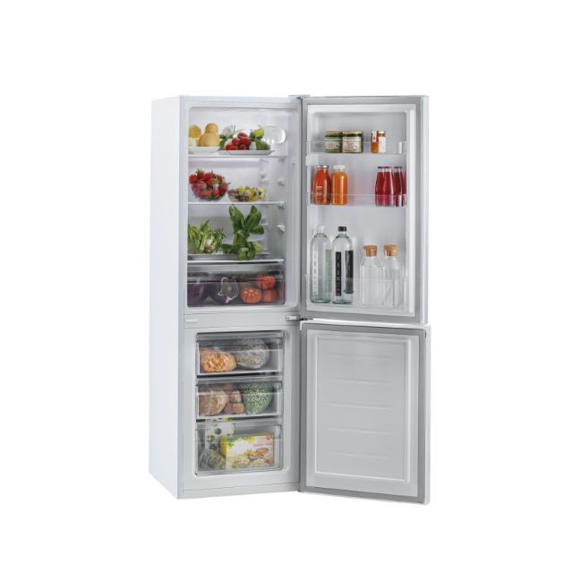 Candy Refrigerator CMCL 4142WN Energy efficiency class F, Free standing, Combi, Height 144 cm, Fridge net capacity 109 L, Freezer net capacity 48 L, 39 dB, White